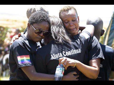 Coro Allegro sings for David Kato & LGBTI rights worldwide-Aluta continua