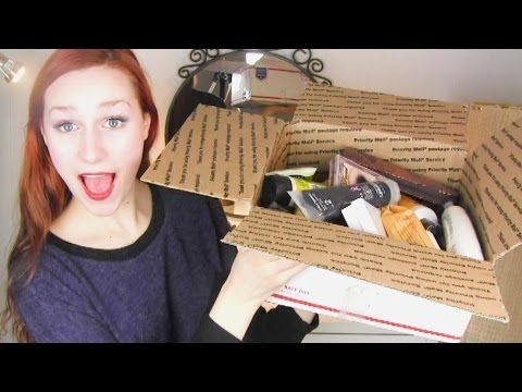 Unboxing package from viewer! (with bloopers)