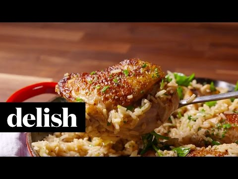 Ranch Chicken and Rice | Delish