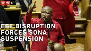 'Pravin must go!' EFF disruption forces Sona suspension