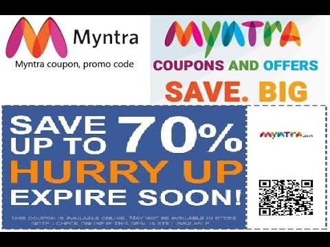Myntra 2018 Free Bonus Coupon Code Upto 1000 Rs *** WORKS 100 % ***