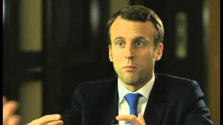 Robert Peston speaks to Emmanuel Macron - Newsnight