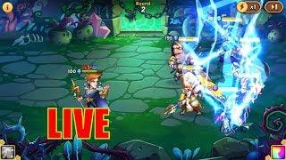 Idle Heroes - 600 Heroic Summon + NEW Hero Valentino