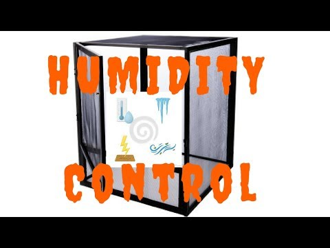 How To Stabilize The Humidity Level In Screen Cages