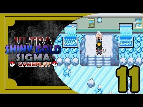 Ultra Shiny Gold Sigma Rom Hack | Pokemon Gameplay | Mahogany Gym Leader Pryce