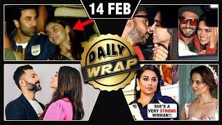Ranbir SUPPORTS Alia, Deepika Ranveer Gully Boy, Vidya REACTS On Kangana | Top 10 News