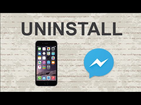 How to delete Facebook messenger | Mobile App