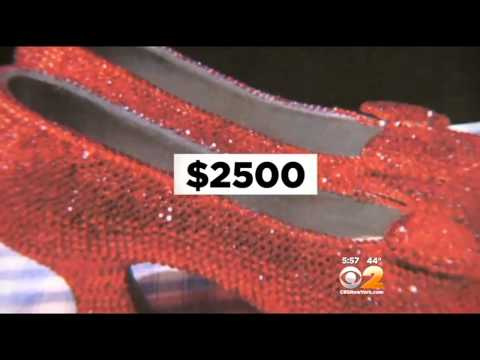 Police Seek Woman Who Stole Ruby Red 'Wizard Of Oz' Slippers From Staten Island Hotel