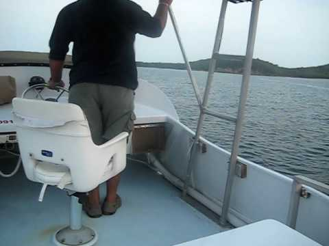 Boat Ride from San Juan Puerto Rico to Vieques Island 40 Miles Away