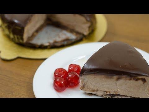 CHOCOLATE CHUNK MOUSSE CAKE RECIPE