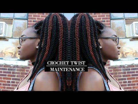 Crochet Twist Maintenance | Night Routine, Get Rid of Frizz, Moisturize