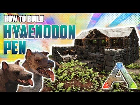 Hyaenodon Pen | Quick Build | Ark Survival