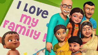 Yeh Hai Mera Parivaar! I Love My Family | Hindi Rhymes for Children | Infobells