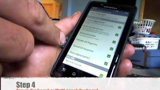How To Turn Off Disable Auto Correct On A Android Smartphone Motorola