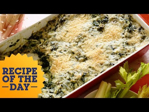 Recipe of the Day: Rachael's Spinach-Artichoke Dip | Food Network