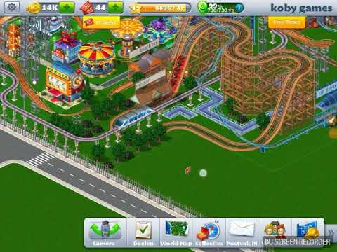 Rollercoaster tycoon kobygames monorail