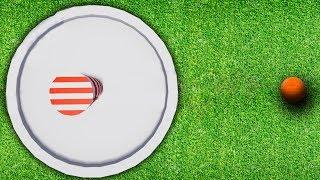 WORLDS BIGGEST HOLE! (Golf It)