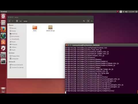 Installing Wordpress locally on Ubuntu 14.04 and 14.10