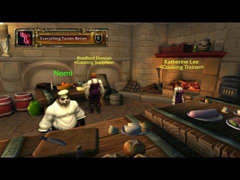 World of Warcraft Everything Tastes Better Cooking Legion Achievement