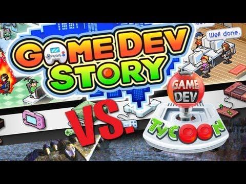 Game Dev Tycoon Vs. Game Dev Story