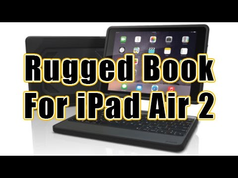 ZAGG Rugged Book for iPad Air 2 - Full Review