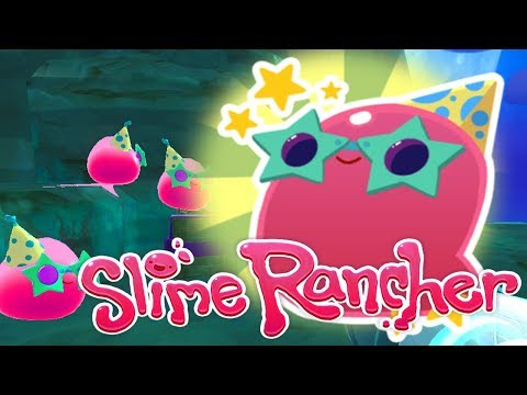 Partying with the Party Gordo!! ☄️ Slime Rancher! Party Gordo Update!