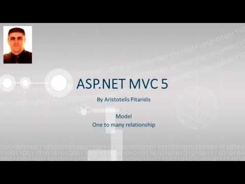 ASP.NET MVC 5 : 3.5 Model - One to many relationship