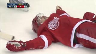 NHL Slapshot Injuries
