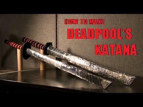 How to make Deadpool's Katana