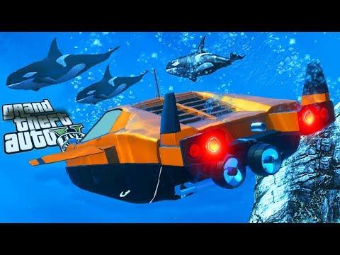 Grand Theft Auto V - Doomsday Heist SUBMARINE  Stromberg Classics (GTA 5 HEIST DLC Stromberg Sports)