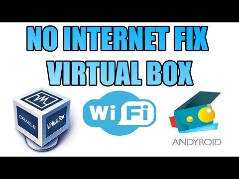 How To Fix Internet Andy Emulator No Internet Fix Virtual Box