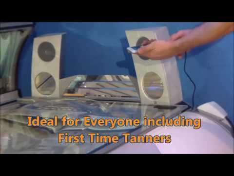 EZ Tan Ergoline Sun Angel S52 Tanning Bed Voiced Demo Video
