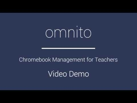 Omnito Chromebook Dashboard for Teachers - Overview