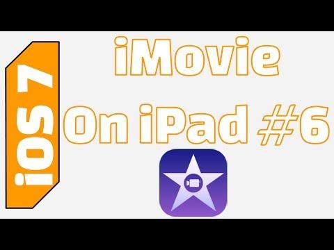 iPad: iMovie Transitions