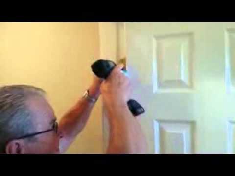 Door Fix - Latch does not extend into door frame (through strike plate)