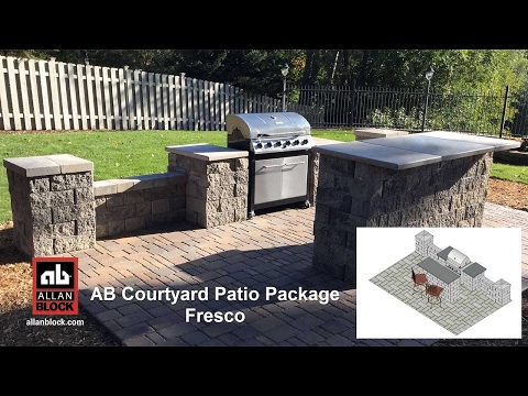 AB Courtyard Patio Package Fresco