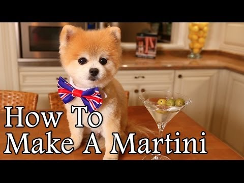 How To Make A Martini By Gentleman Norman