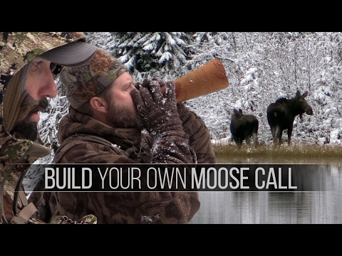 How to Build a Moose Call - Birch Bark Moose Call