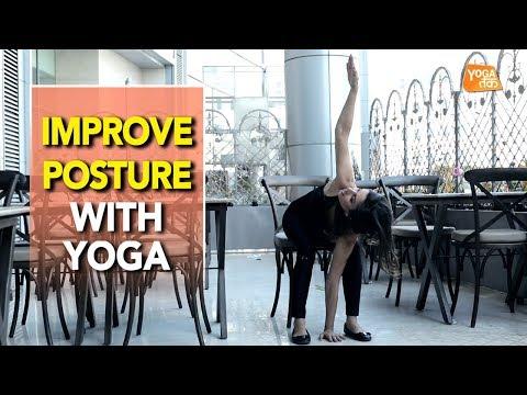 Office Yoga | Yoga To Improve Posture | Yoga Tak
