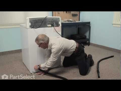 Washer Repair- Replacing the Drain Hose Extension (GE Part # WH41X10096)