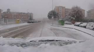 Nevicata del 15 Gennaio 2017