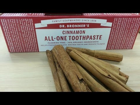 The Best Natural Toothpaste (No Mint Fluoride-Free) With No Endocrine Disruptors