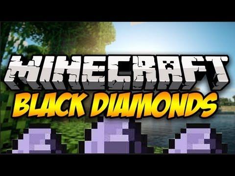 Minecraft: BLACK DIAMONDS!   Mod Showcase [1.6.2]