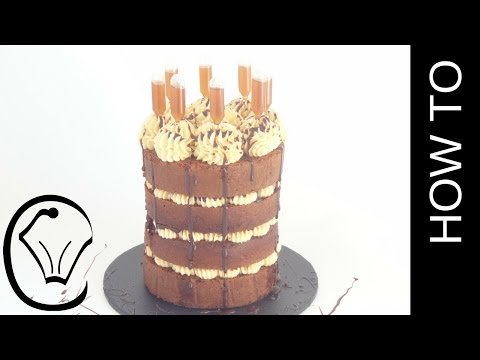 Buttercream Pumpkin Spice Cake with Pumpkin Spice Syrup Pipettes by Cupcake Savvy's Kitchen