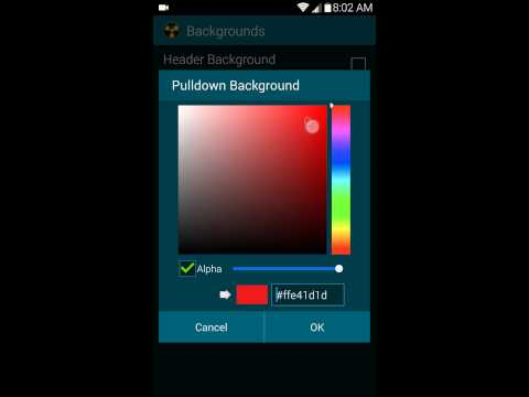 Notification Panel backgrounds 2014 11 06