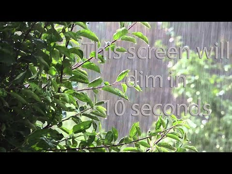 June 13, 2018 Vlog #116, 8 hours of tropical rain. Study, meditate, relax, sleep.
