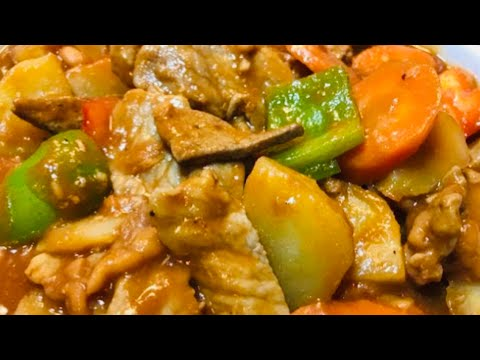 AFRITADA recipe Cebu Version