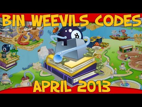 Bin Weevils Codes for Mulch, XP, Nest Items, Dosh and Seeds April 2013