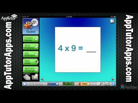 AppTutor G5M Grade 5 Multiplication
