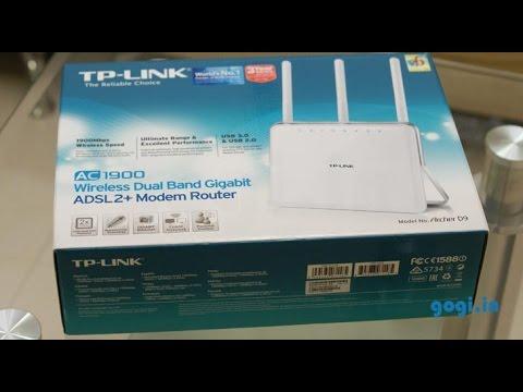 TP-Link Archer D9 AC1900 review - Wireless Dual Band Gigabit ADSL 2+ modem router